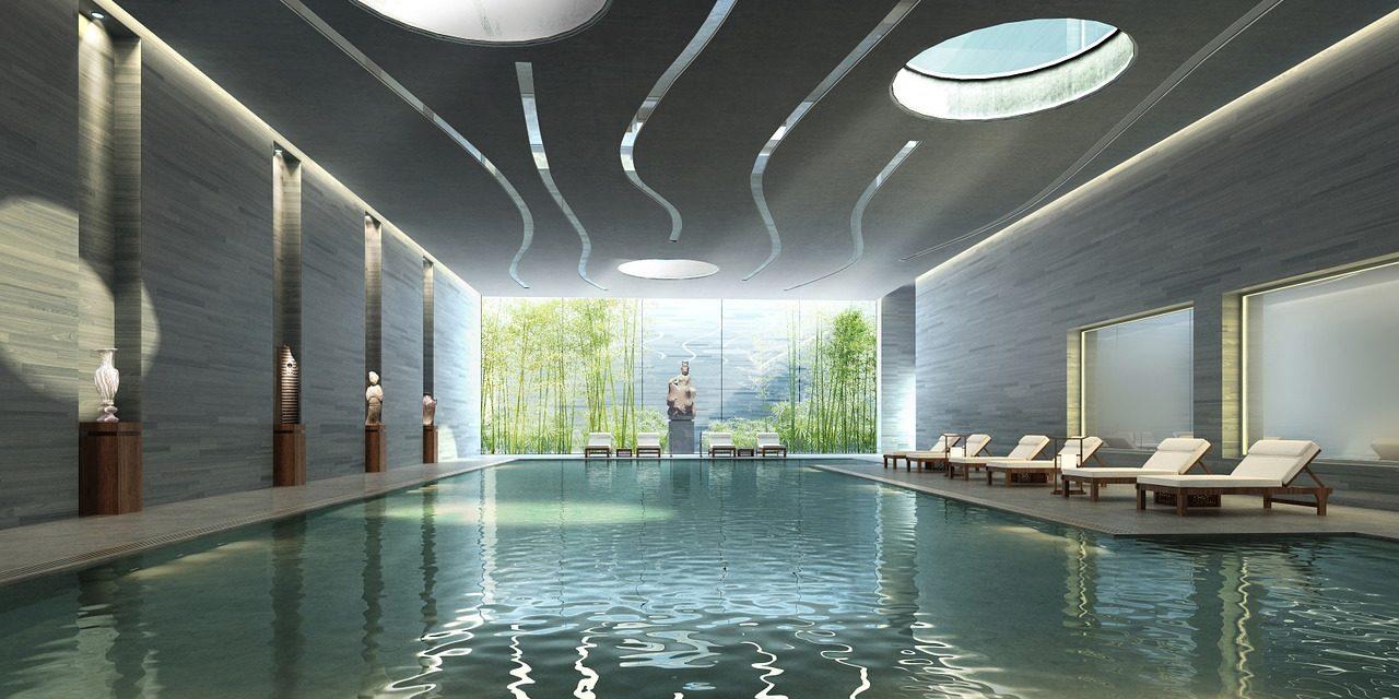 La piscine intérieure, pour une baignade en tout temps