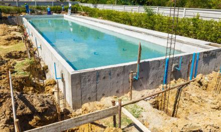 La piscine en béton, le classique
