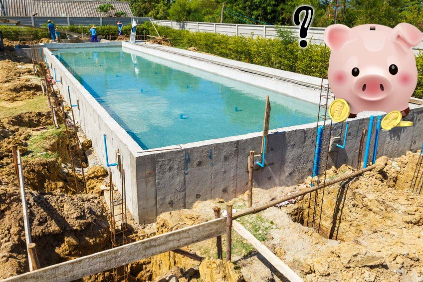 Combien coûte une piscine en béton ?