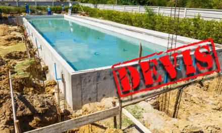 Devis pour une piscine en béton : que regarder ?